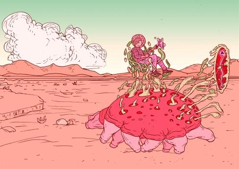desert gloop beast PINK